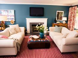 Striped Rug In Living Room Photo Page Hgtv