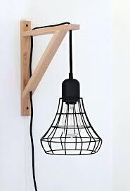 hanging lamp with plug