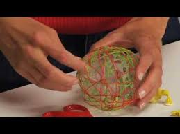 How To Make String Ball Decorations Custom String Ball Christmas Ornament Tutorial YouTube