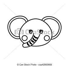 かわいい 象 動物 アイコン