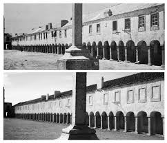 architecture without architects. among other sites we went to cap espichel bernard rudofsky used the upper picture taken in 1872 his book architecture without architects