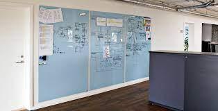 glass white board magnetic white board