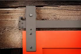 image of sliding barn door track ideas