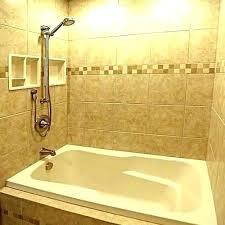 replace shower surround install how to a replacing wall panels with tile cost acrylic tub studs