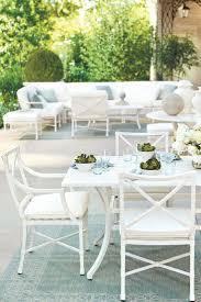 outdoor furniture white.  Outdoor Suzanne Kasler Garden Ideaswhite Patio White Furniture Ideas P On  Exterior Stunning Black Wicker Throughout Outdoor U