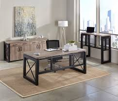 industrial style office furniture. Terrific Industrial Office Furniture In The Complete Style Guide NBF Blog Inside O