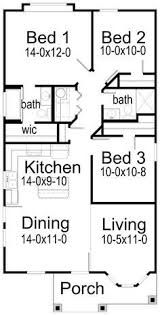 House Plans By Korel Home Designs Small House Plan. Maybe No Bedroom #3 And  Use It For Living Room Space.