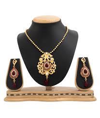 rg fashions multicolour pendant set rg fashions multicolour pendant set in india on snapdeal
