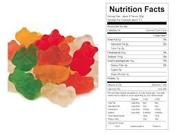 calories in gummy bears