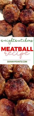 meatball recipe with only 1 weight watchers smart points weight watchers meatball recipe weight watchers