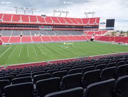 Raymond James Stadium Seating Chart Club Level Raymond James Stadium Section 233 Seat Views Seatgeek