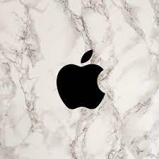 Apple Logo White Marble Ceramic Granite ...