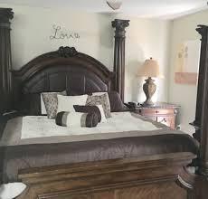 El dorado Victorian canopy king bedroom set for Sale in Homestead ...