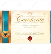 certificate template royalty cliparts vectors and stock certificate template stock vector 19466040