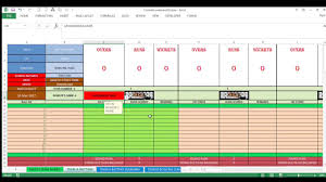 Cricket Score Sheet 20 Overs Excel Best Cricket Scoreboard In Ms Excel For Tournaments Matches