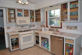 Modular Kitchen Wall Cabinets Modular Small Kitchen Design Ideas With Brown Color And Wooden