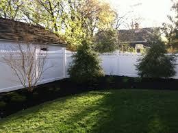 Backyard Fence Designs Enchanting Wood Privacy Fences Added Security Sleek Designs Photos