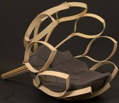 nature inspired furniture. this is a design using natural material and it looks very modern i love the birdsnest inspiration all holes in give open nature inspired furniture