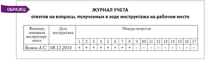 Обучение по охране труда как правильно организовать инструктаж и  20150128 2