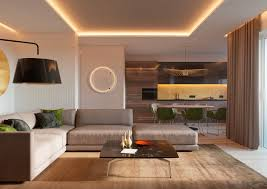 Living Room And Bedroom 5 Ideas For A One Bedroom Apartment With Study Includes Floor Plans