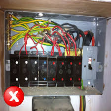 electrical safety check ramstead electricians remove old electrical fuse box