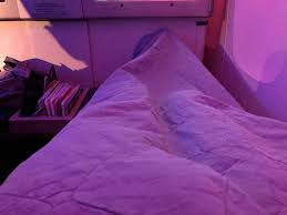 bedding is critical for sleeping well and while the bedding on turkish is not the best that honor still goes to united airlines for business class