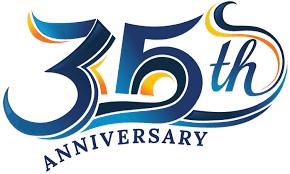 35th anniversary clipart