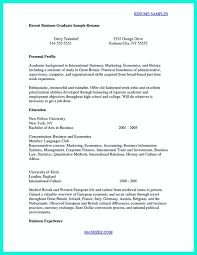 New Graduate Resume Sample Nurse For 21 Appealing Resumes Recent