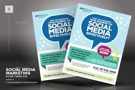 Marketing Brochure Templates Social Media Marketing Flyer Templates By Kinzishots Graphicriver