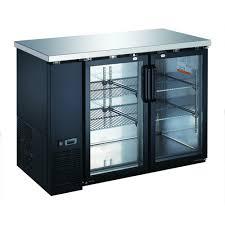 refrigerator table. eq underbar 2 doors refrigerator 48.87\u0027\u0027 x 24.37\u0027\u0027 36.25\u0027\u0027 table s