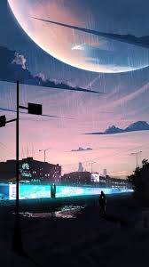 Anime Rain Wallpaper 4k