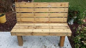 pallet outdoor bench diy. Diy Pallet Bench Outdoor