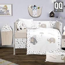 elephant crib bedding boy clothing