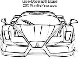 Ferrari Drawing At Getdrawingscom Free For Personal Use Ferrari