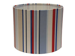 retro stripe lampshade