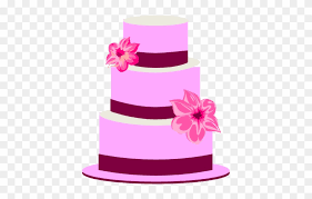 Clipart Cake Vector Wedding Cake Clipart Hd Png Download