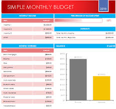 Family Budget Templates Excel Monthly Budget Planner Excel Template Family Budget Planner Ideas