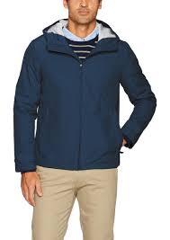 dockers men s mason all terrain hooded windbreaker jacket