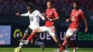 Lille suffer first Ligue 1 defeat of season at Brest - Eurosport