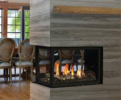 3 sided gas fireplace by marquis atrium three sided gas fireplace