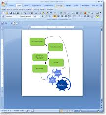 flowchart in word how to make a flow chart in microsoft word 2007
