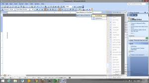 how to write h2o on word 2003