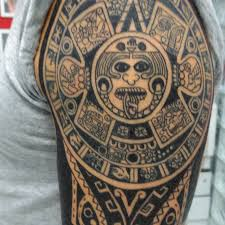 Aztec Pattern Tattoo