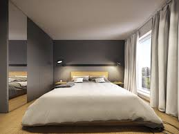Simple Bedroom Design Minimalist And Simple Bedroom Design With Gray Shades Roohome