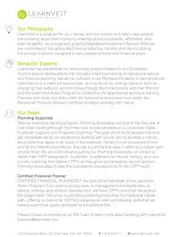 Financial Advisor Resume Jobiption Cover Letter Template For