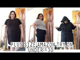 Plus Size Amazon Try On Under 30 Daily Ritual Youtube
