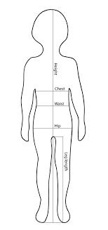 Size Chart La Petite V