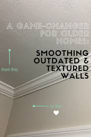 we had just put up fresh smooth drywall in our family room and as i began painting it i couldn t stop noticing the sand textured hallway walls