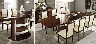 italian high gloss furniture. ESF Roma High Gloss Walnut Lacquer Finish Dining Room Set 5 Pcs Made In  Italy Order Italian High Gloss Furniture