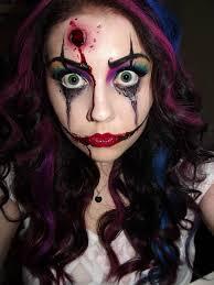 clown flossy makeup ideas